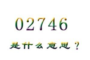 02746是什么意思